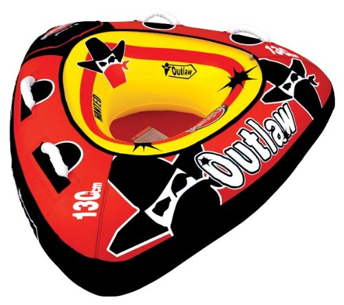 - SportsStuff 53-1126 Outlaw Towable,Deflated 23in x58in