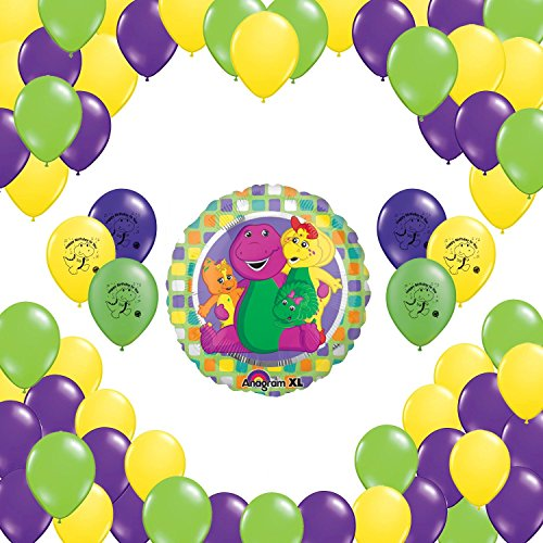 (Barney Party Supplies Balloon Decorations Set - 52)