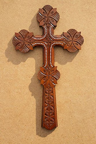 Manual Woodworkers and Weavers Symbols of Faith Ribbon Crosses, Set ...