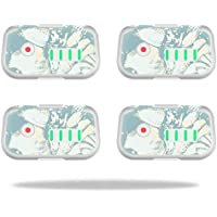 Skin For DJI Phantom 3 Drone Battery (4 pack) – Blue Seashells | MightySkins Protective, Durable, and Unique Vinyl Decal wrap cover | Easy To Apply, Remove, and Change Styles | Made in the USA