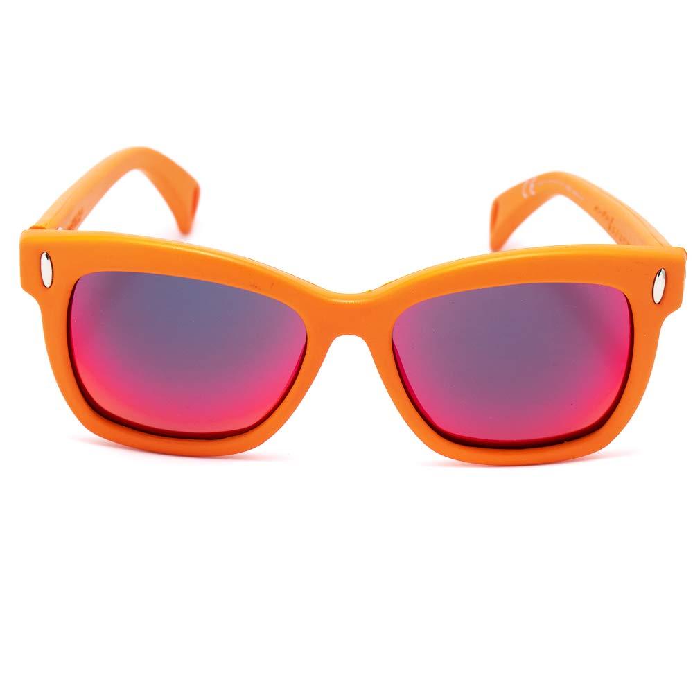 56 Mixte Adulte Rouge Italia Independent 0011-055-000 Montures de lunettes Rojo