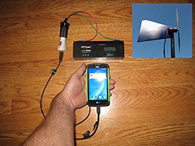 Cell Charger Wind Turbine Generator Kit