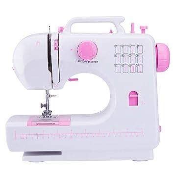 Xuan - worth having Estilo moderno Máquina de coser Hogar Multifunción eléctrico Pequeño: Amazon.es: Hogar