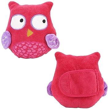 Amazon.com: Babies R Us – Búho rosado cuello Cojines (2 ...