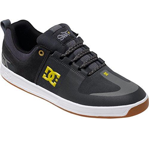 DC Mens Lynx Prestige S Shoes, Charcoal