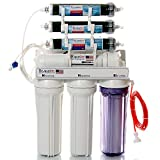 LiquaGen – 7 Stage – 0 PPM Aquarium Reef/Deionization Reverse Osmosis Water Filter System (RO/DI) | Heavy Duty w/ 150 GPD Capacity