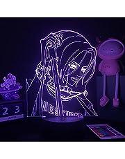 3D illusielamp LED Nachtlampje Anime Nana Voor Slaapkamer Decor Tafellamp Nana Osaki Illustratie Kids Kind Meisje Licht manga Geschenk