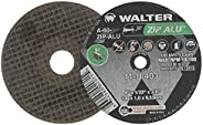 Walter 11U042 ZIP ALU Fast and Free Cutoff Wheel - [Pack of 25] A-60-ZIP-ALU Grit, 4-1/2 in. Abrasive Wheel fo