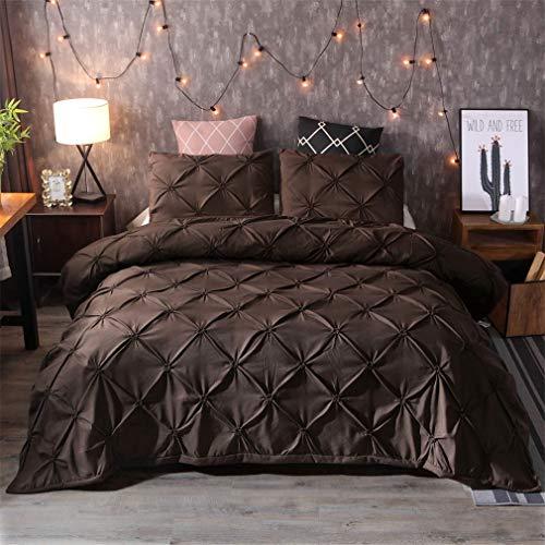 Mandarin Duck Comforter Bedding Sets Duvet Cover Set Pillowcases Queen King Size Bedclothes Brown ()