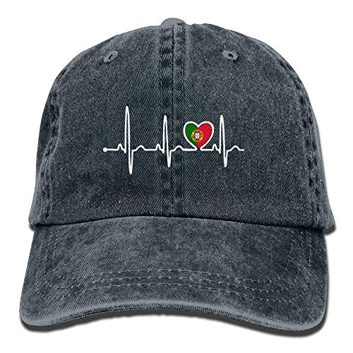 béisbol Adjustable Women's Hat Surf Heartbeat Baseball Flag Caps Gorras Denim Portugal Walnut Cake wCOHxqCT
