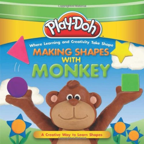 PLAY-DOH: Making Shapes with Monkey (Play-Doh First Concepts) Board book – March 26, 2013