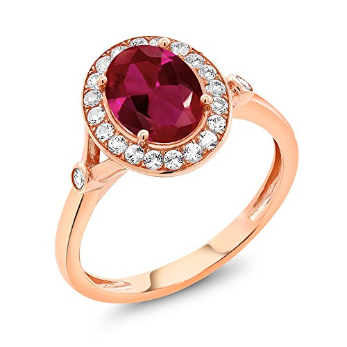 vintage ruby engagement rings - 7