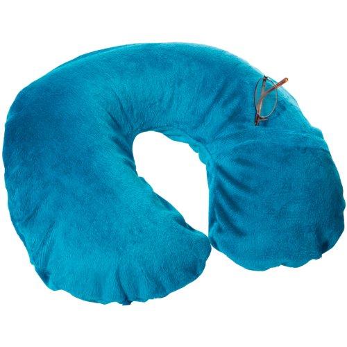 Travel Conair TS22Teal Inflatable Fleece