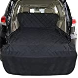 Cambond SUV Cargo Liner for Dogs, Waterproof Pet Car Seat Cover Nonslip Extra Large Heavy Duty Dog Seat Cover for SUV, Minivan, Cars, Truck, Sedan, Black