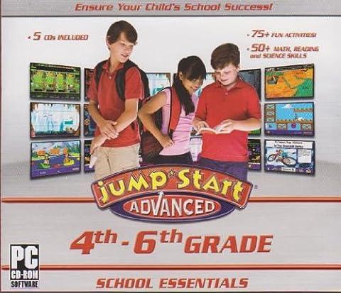 Jump Start Advanced 4th-6th Grade School Essentials (Educational Software)
