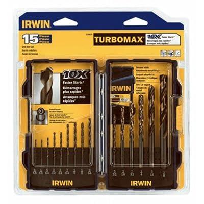 Irwin Industrial Tools TurboMax Fractional Metal Index Drill Bit Set