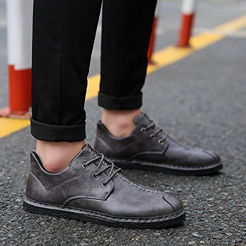 Size 3 Choice Men's Spring and Shoes Shoes Gray Colors Feifei Multiple Tide Breathable Autumn Fashion qgqzwTP