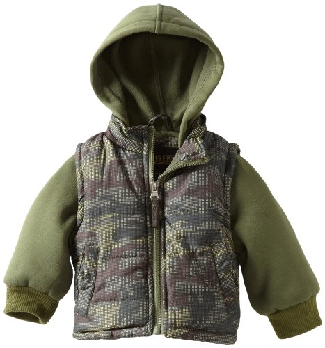 IXtreme Baby Boys' Promo Puffer Camo Printed Snowsuit