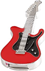 Zedo Pendrive Memoria USB 2.0 de 32 GB Flash Drive Pen Drive Pendrive USB Memorias USB Pendrives Pendrive Divertidos, Color Guitarra electrica de Cristal Rojo: Amazon.es: Electrónica