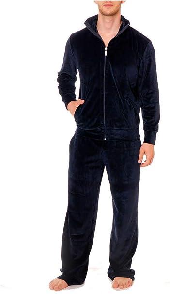 Jockey - Chándal - para Hombre Navy-Black X-Large: Amazon.es ...