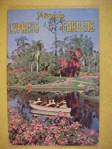 Cypress Gardens Florida Souvenir Pamphlet; Ephemera (Floridania Fla Souvenir Advertising Tourist Pamphlet)
