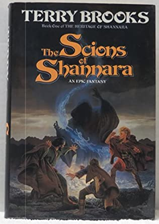 book cover of The Scions of Shannara
