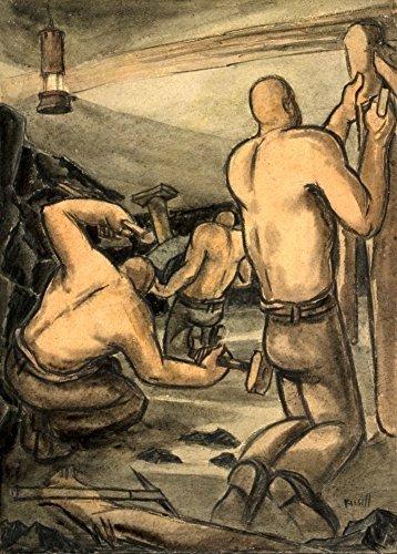 Vintage British WW2 1939-45 Propaganda Paintings