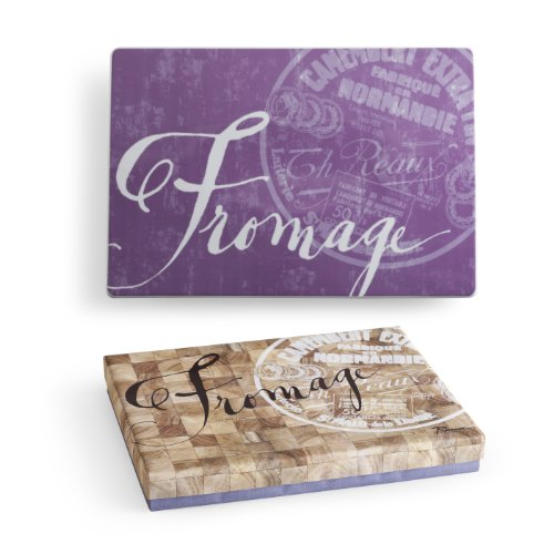 Rosanna Vino and Fromage Infinity Tray for Cheeses, Salami, Pate and Fruit ()