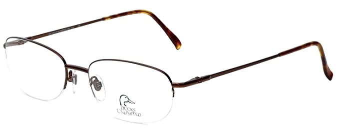 e9f77964ad2a Image Unavailable. Image not available for. Color: Ducks Unlimited Designer  Titanium Metal Eyeglass Frames ...
