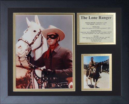 """Legenden Sterben Nie die """"Lone Ranger"""" gerahmtes Foto Collage, 11 x 35,6 cm von Legends Never Die"""
