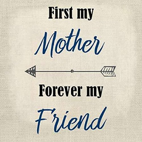 24 X 24 First My Mother Poster Print By Kimberly Allen