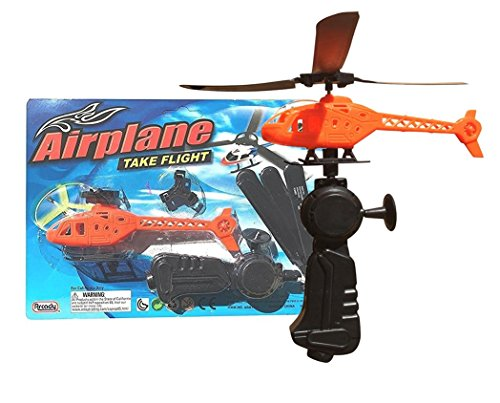 Flying Pullback Launch Action Helicopter with Propellers (Pack of 2) ()
