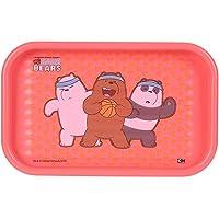 Miniso We Bare Bears Servis Tepsisi (Kırmızı)