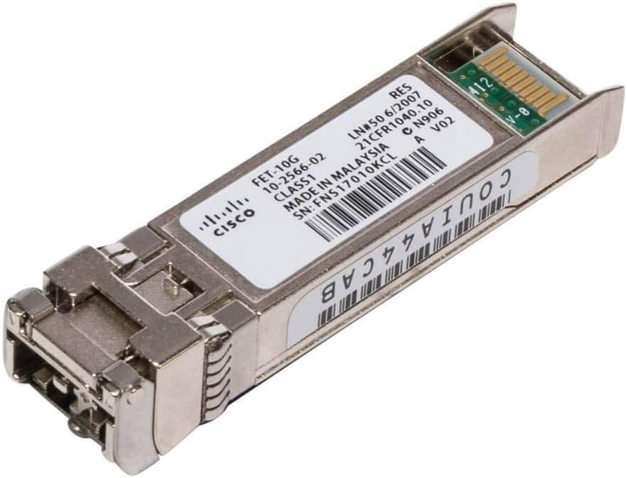 Amazon.com: Cisco SFP + transceiver Module - 10 Gigabit Ethernet ...