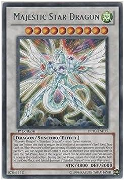 Yu-Gi-Oh! - Majestic Star Dragon (DP10-EN017) - Duelist Pack 10: Yusei Fudo 3...: Amazon.es: Juguetes y juegos