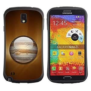 Be-Star Impreso Colorido Diseño Antichoque Caso Del iFace Primera Clase Tpu Carcasa Funda Case Cubierta Par SAMSUNG Galaxy Note 3 III / N9000 / N9005 ( Saturn Planet )
