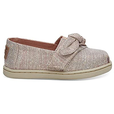 TOMS Women's Classic Canvas Slip-on,Red,6.5 M
