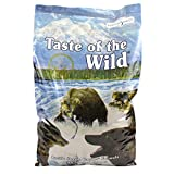 Taste of the Wild Dry Dog Food, Pacific Stream Canine Formula with Smoked Salmon, 30-Pounds Bag, 2-Pack