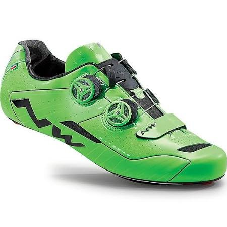 Northwave Extreme Road shoes Green Fluo- 39.5 by Northwave