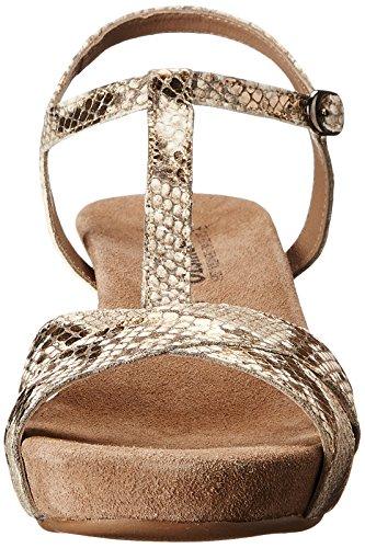 Mephisto - Sandalias de vestir para mujer Marrón Bronzo Gold Boa