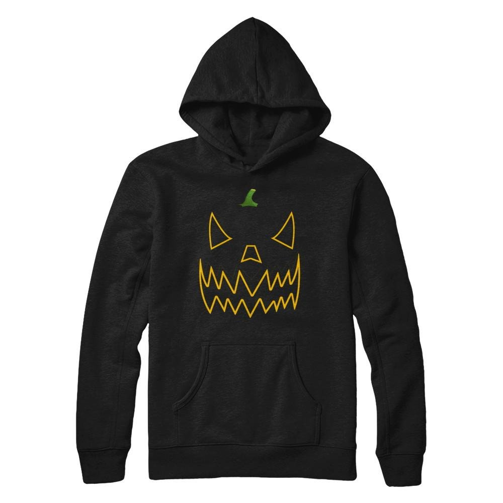 Teely Shop Pumpkin Face Halloween Funny Cute Pullover Shirts