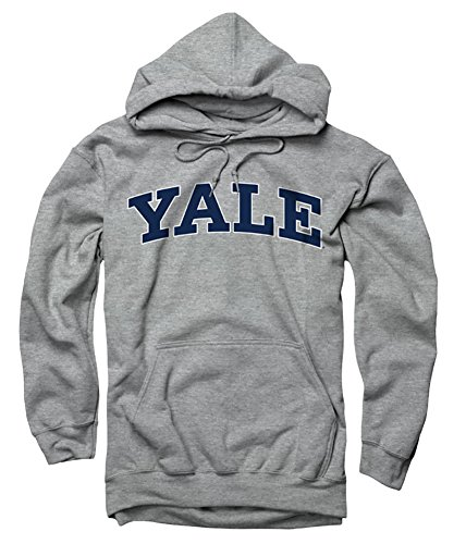 Yale University Bulldogs Hoodie/Hooded Sweatshirt Grey M
