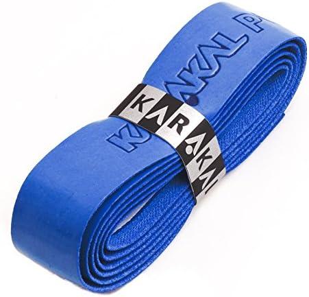Karakal PU Supergrip replacement racquet grip - tennis / badminton / squash - royal blue x 1 grip