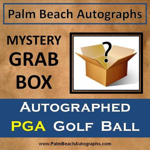 MYSTERY GRAB BOX - Autographed PGA Tour Player Golf Ball -