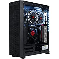 XOTIC G5 SHADOW Gaming Computer - Ryzen 7 1800X | NVIDIA GeForce GTX 1060 3GB | 32GB RAM | 256GB SSD | 1TB HDD | Windows 10 | Closed Loop ICE Cooling