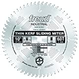 Freud 10' x 60T Thin Kerf Sliding Compound Miter Saw Blade (LU91M010)