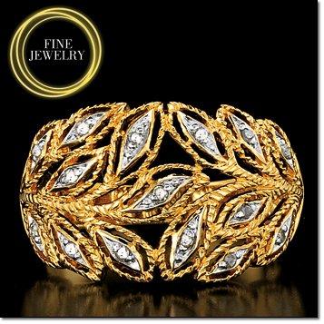 Avon Gold Plated (Diamond Rings)