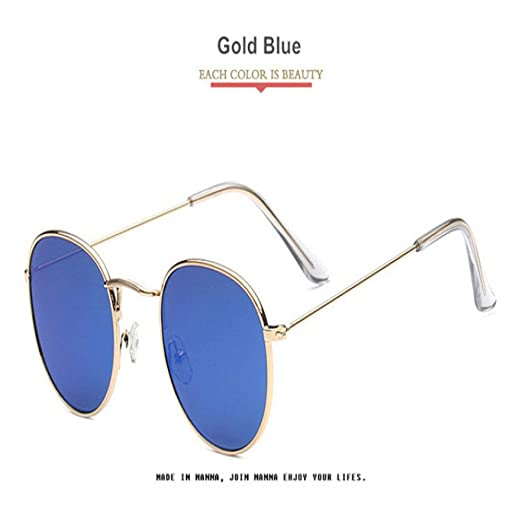 Yangjing-hl Gafas de Sol ovaladas Gafas de Sol clásicas para ...