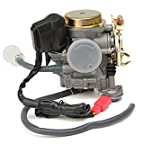50cc scooter carburetor 4 stroke - Scooter Carburetor 49cc 50cc 4 Stroke GY6 Engine with Fuel Filter