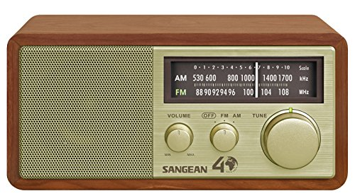 Best Selling Sangean WR-11SE AM/FM Table Top Radio 40th Anniversary Edition